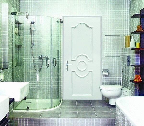 Какие межкомнатные двери купить в ванную