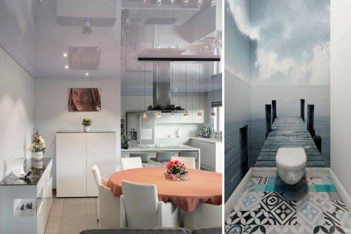 Несколько интересных дизайнерских идей, которые помогут «расширить» пространство маленькой комнаты изображение