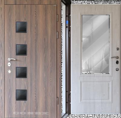 Двери  стальные Conex модель 84/ изнутри 60 изображение