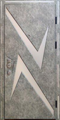 Стальная входная дверь DIAMOND GLASS-11 изображение