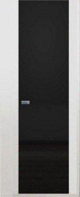 Остекленные Двери Скрытого Монтажа: Зеркало Графит изображение