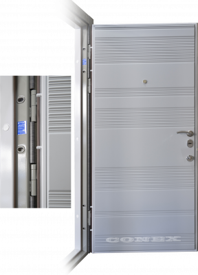 Двери  стальные Conex модель 55 изображение
