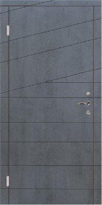 Входные Двери Триумвират Диагональ 2 в RAL изображение
