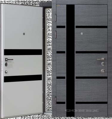 Двери  стальные Conex модель 72/ изнутри 73 изображение