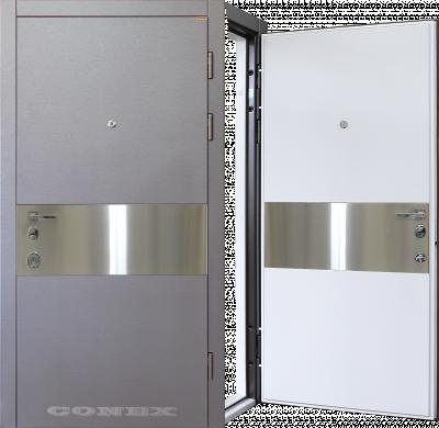 Двери  стальные Conex модель 88 изображение