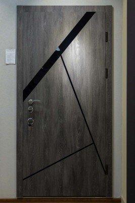 Стальная входная дверь Diamond Glass DG 5 изображение