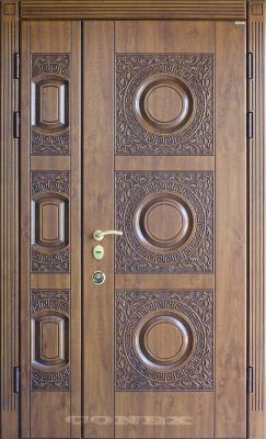 Двери  стальные Conex модель R-33 изображение