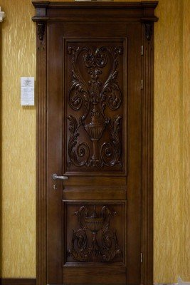 Двери из массива модель М 27 изображение