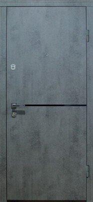 Стальная входная дверь DIAMOND GLASS-10 изображение