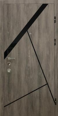 Стальная входная дверь Diamond Glass DG 5 изображение 4