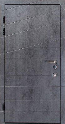 Входные Двери Авангард Диагональ в RAL изображение