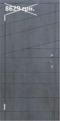 Входные двери в квартиру Титан - Диагональ 2 изображение