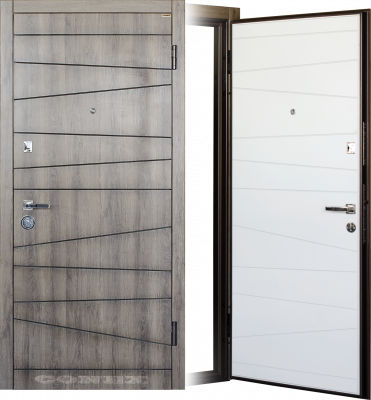 Двери  стальные Conex модель 74 изображение