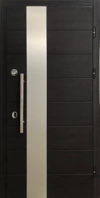 Стальная входная дверь DIAMOND GLASS-6 изображение