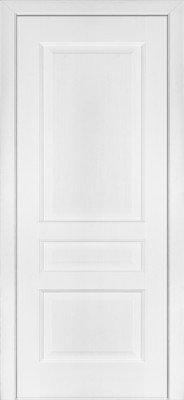 Межкомнатные Двери Модель 102 Ясень Белый Эмаль ПГ изображение