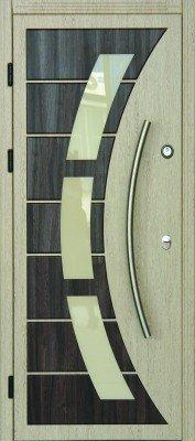 Стальная входная дверь DIAMOND GLASS-4/8 изображение 2