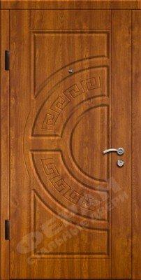 Входная дверь модель П-19 (патина) изображение