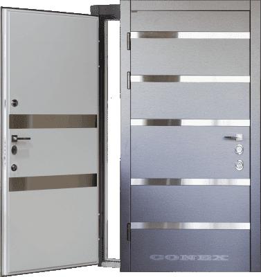 Двери  стальные Conex модель 75 изображение