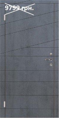 Входные двери в квартиру Триумвират - Диагональ 2 изображение