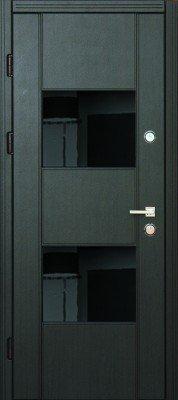 Стальная входная дверь DIAMOND GLASS-3 изображение