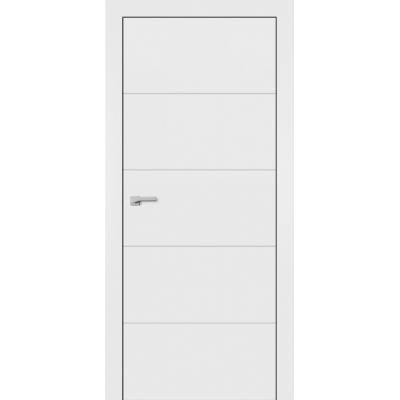 Межкомнатные двери Omega окрашенные эмаль F-5 изображение 1