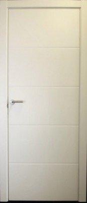 Межкомнатные двери Omega окрашенные эмаль F-5 изображение 2