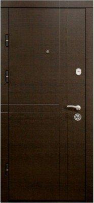 Входная Дверь МД - 161 Венге горизонт изображение