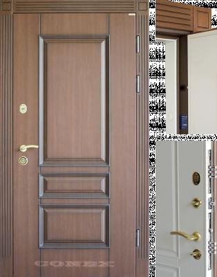 Двери  стальные Conex модель 16 изображение