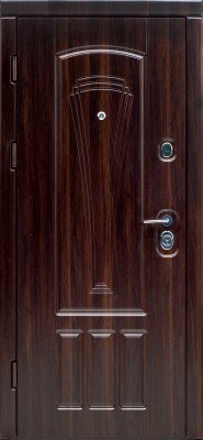 Входные Двери Троя Орех мореный DO-6 Серия «ТРОЯ» изображение